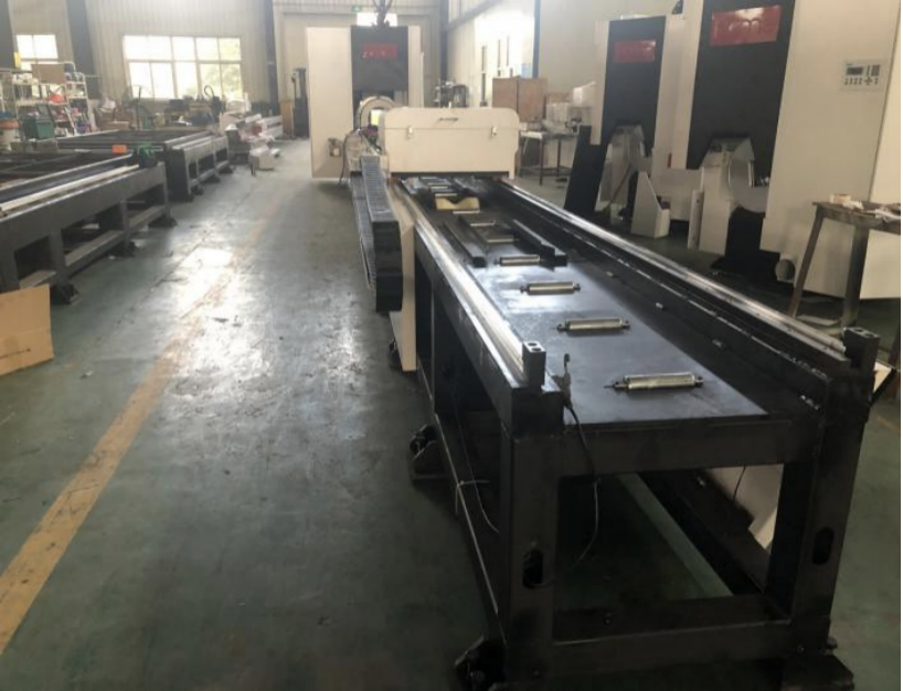 tube fiber laser cutting machine factory