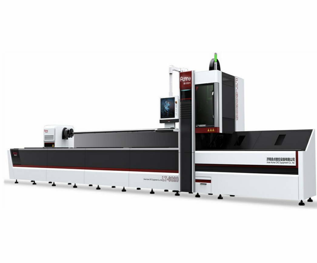 Advanced steel tube laser cutter machine factory in China